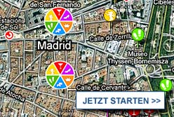Stadtplan Madrid starten