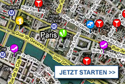 Stadtplan Paris starten