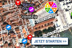 Stadtplan Venedig starten