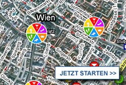 Stadtplan Wien starten