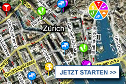 Stadtplan Z&uuml;rich starten