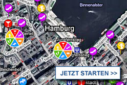Stadtplan Hamburg starten