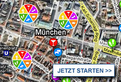 Stadtplan M&uuml;nchen starten