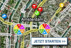 Stadtplan Amsterdam starten