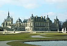 Schloss in Chantilly