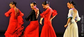 Flamencotänzerinnen in Madrid