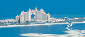 The Palm Atlantis in Dubai