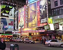 Broadway in New York