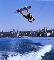 Wakeboarden in Zürich