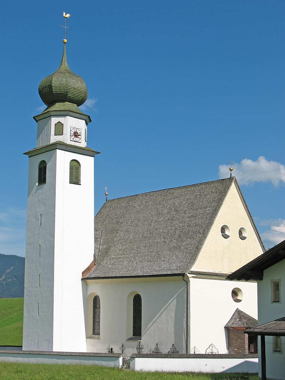 Die katholische Pfarrkirche St. Michael in Thierbach