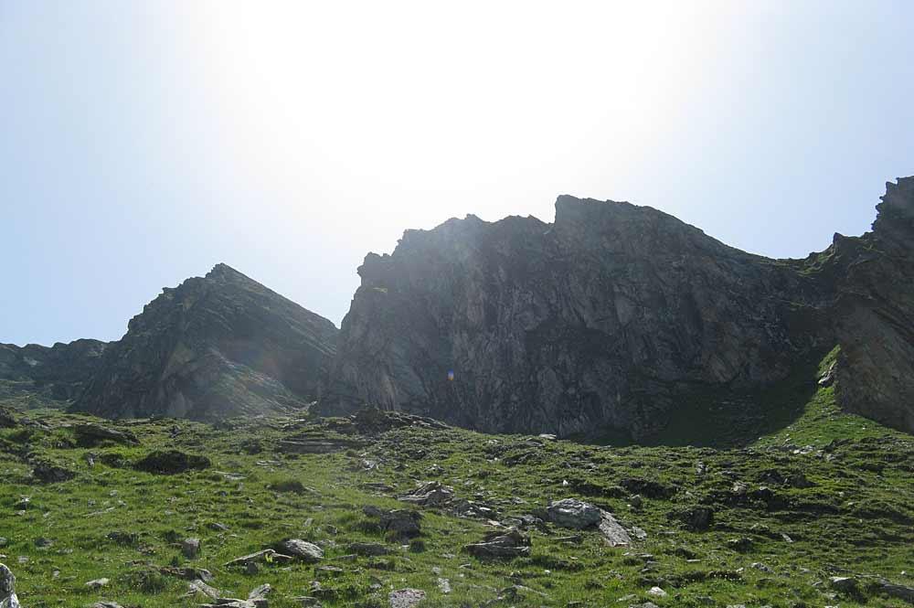 Berglandschaft der Zillertaler Alpen