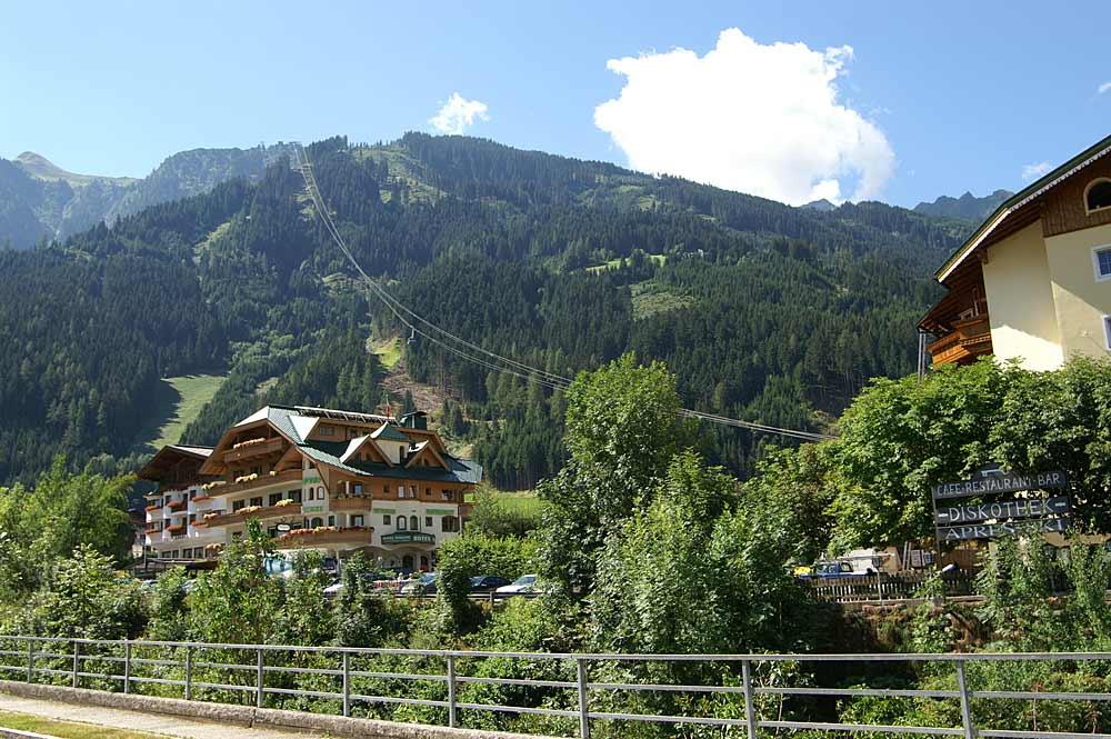 Die Ahornseilbahn in Mayrhofen