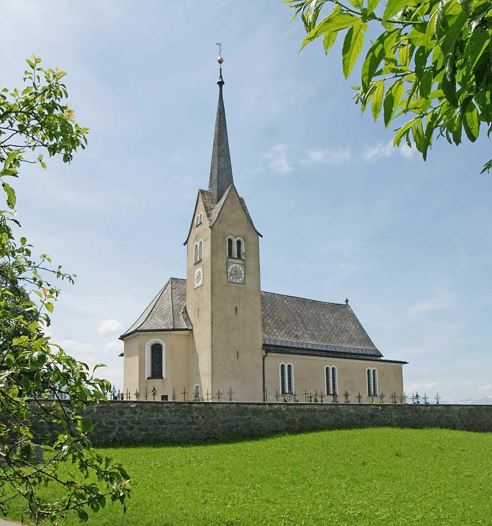 Pfarrkirche St. Bartholomäus in Übersaxen