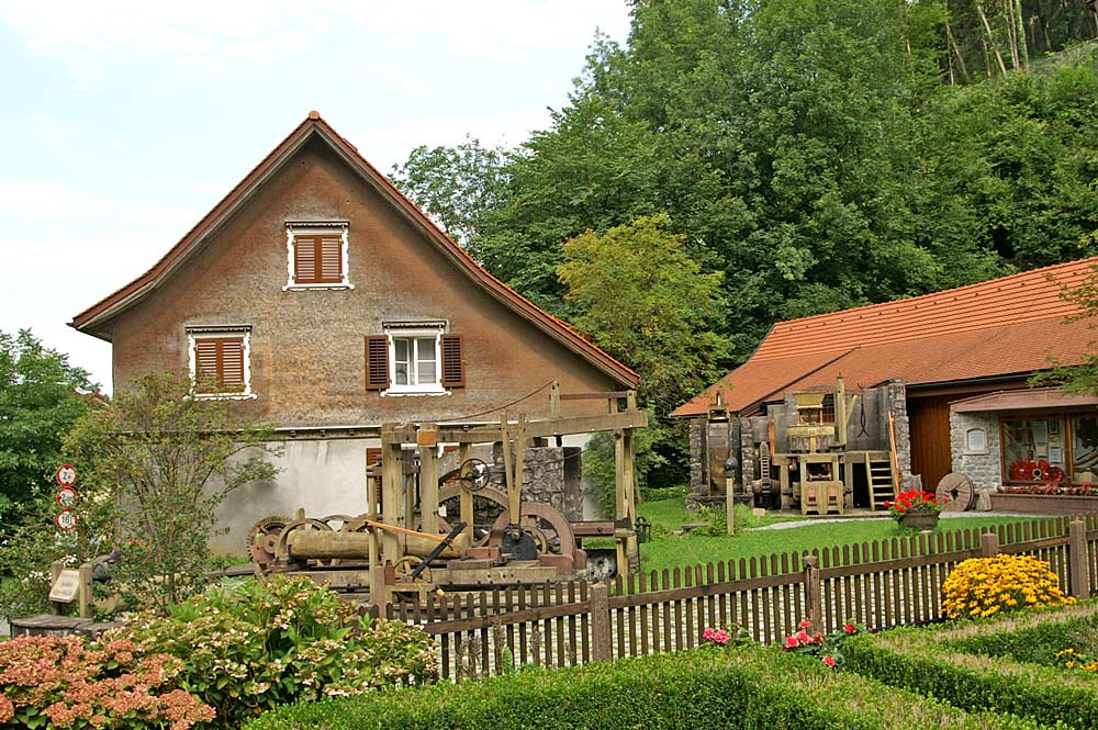 Stoffels Säge Mühle in Hohenems
