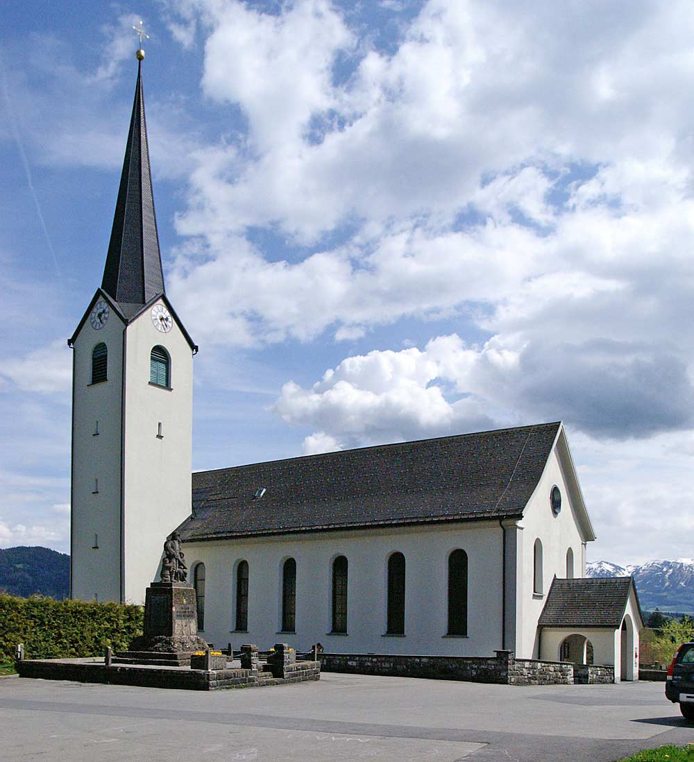 Pfarrkirche St. Sebastian in Langen bei Bregenz