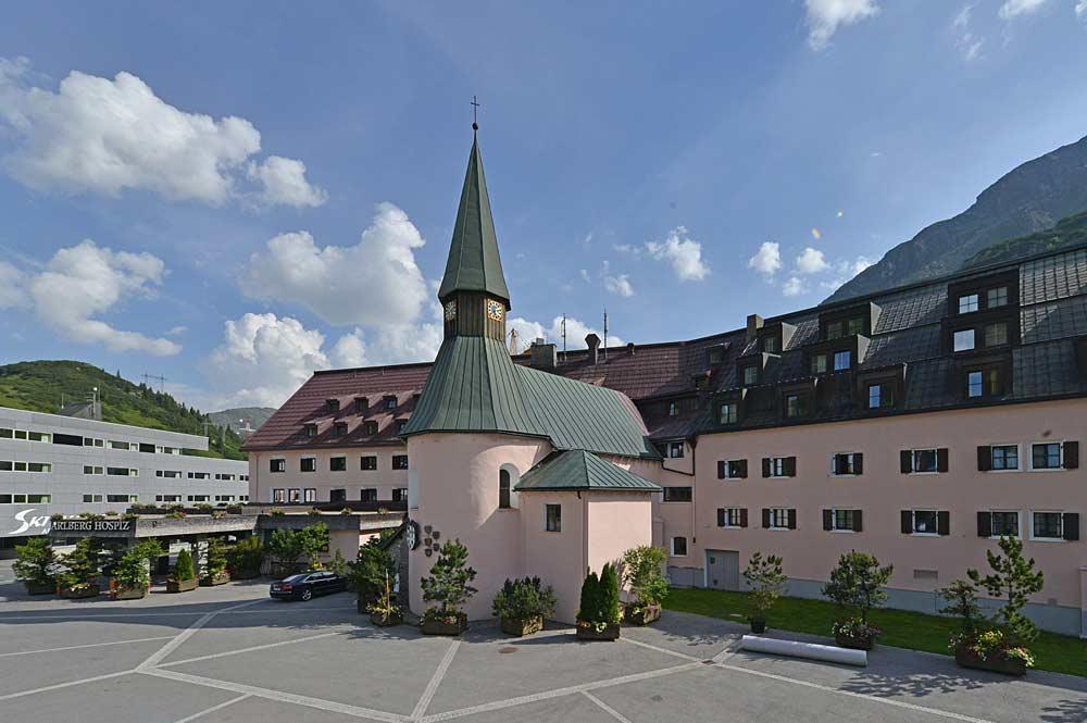 Außenansicht der Bruderschaftskapelle des Hospiz St. Christoph