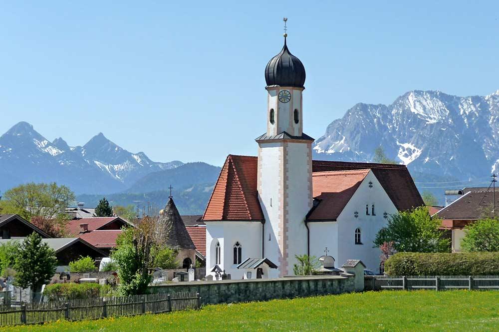 Pfarrkirche Sankt Jakob in Wallgau