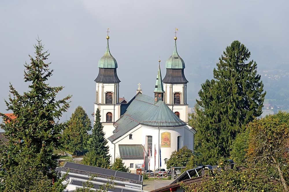 Wallfahrtskirche Mariä Heimsuchung in Bildstein