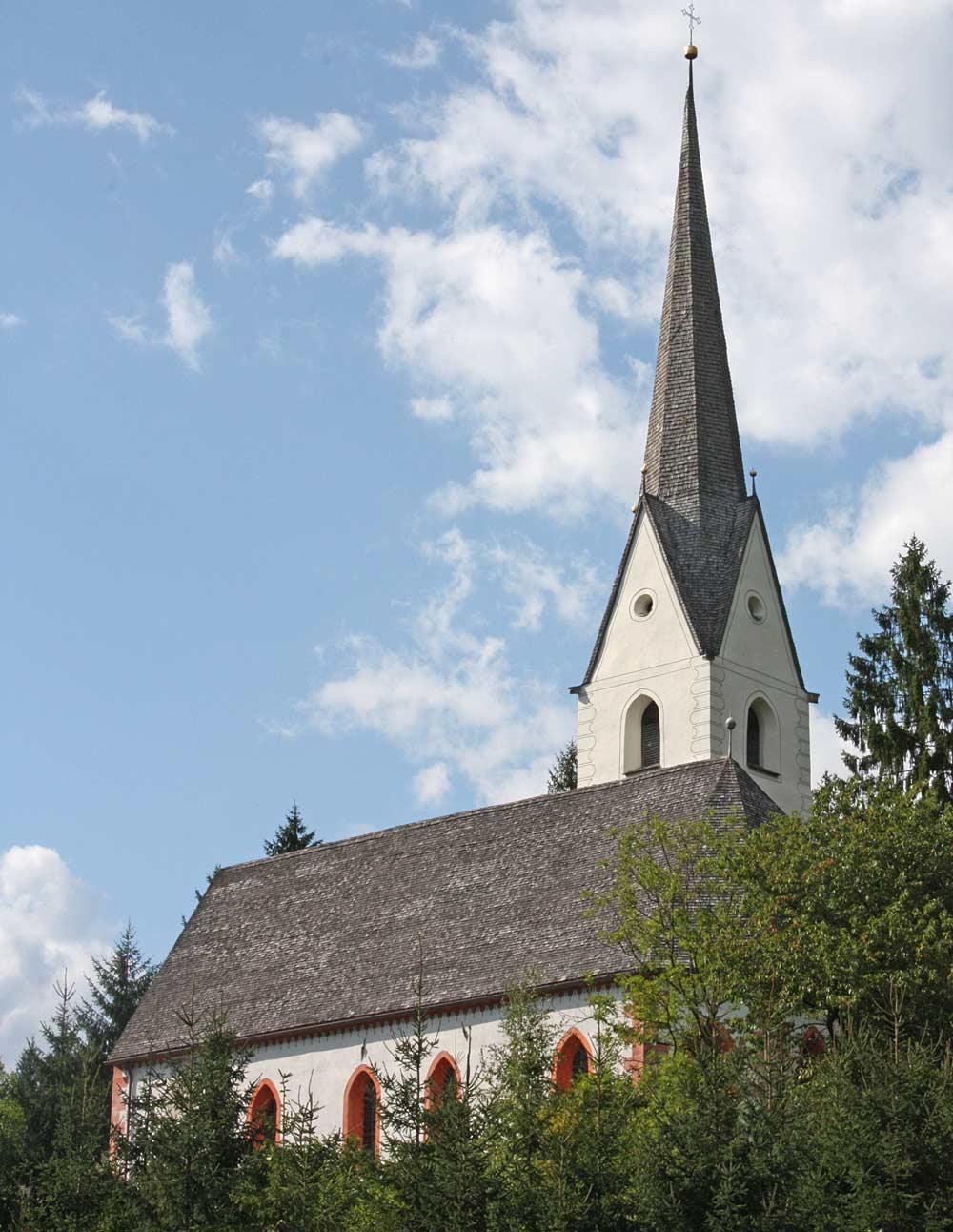 Filialkirche St. Chrysanthen in Nikolsdorf-Nörsach