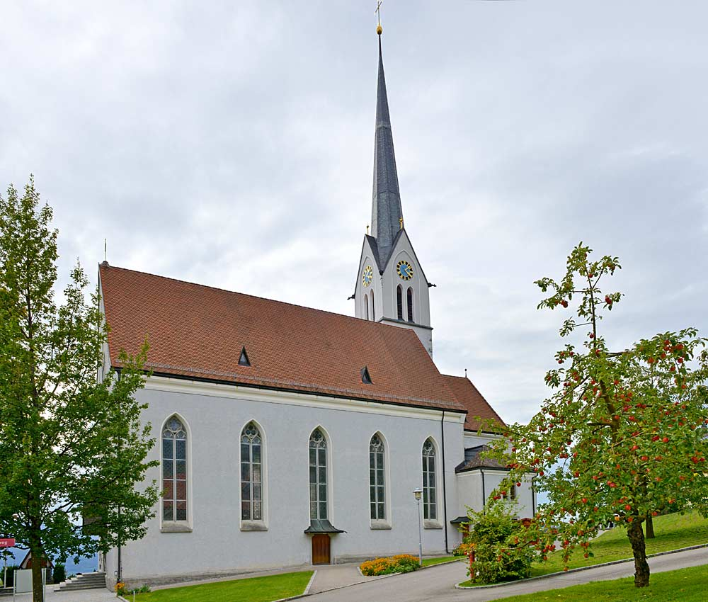 Pfarrkirche St. Jakobus d. Ältere in Fraxern