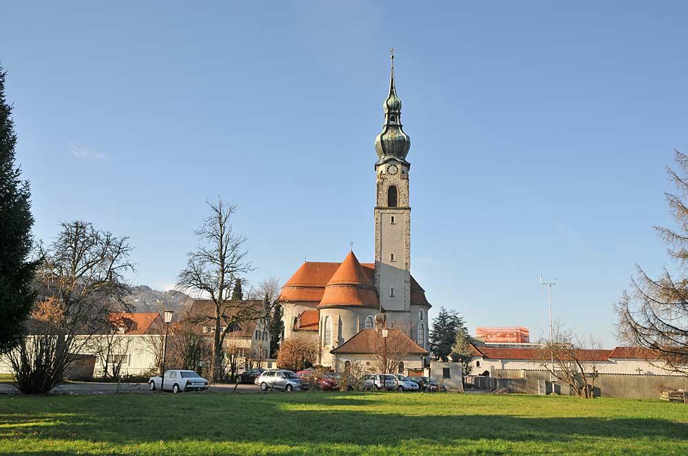 Pfarrkirche St. Johannes der Täufer in Höchst