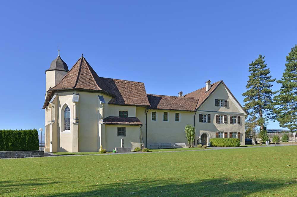 Ostansicht des ehemaligen Minoritenklosters Viktorsberg