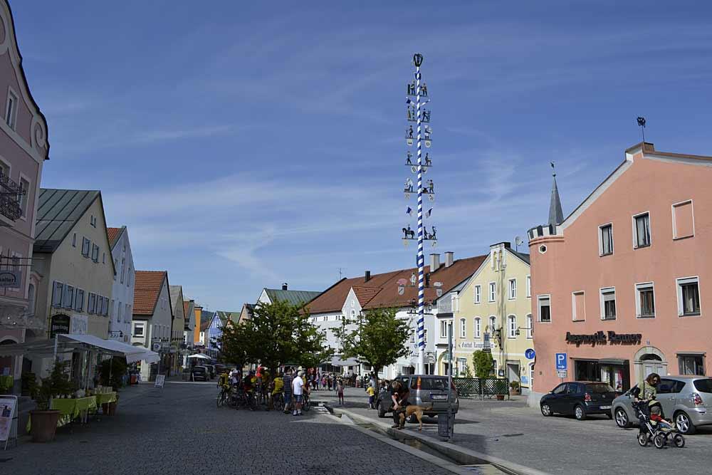 Der Marktplatz von Waldkirchen