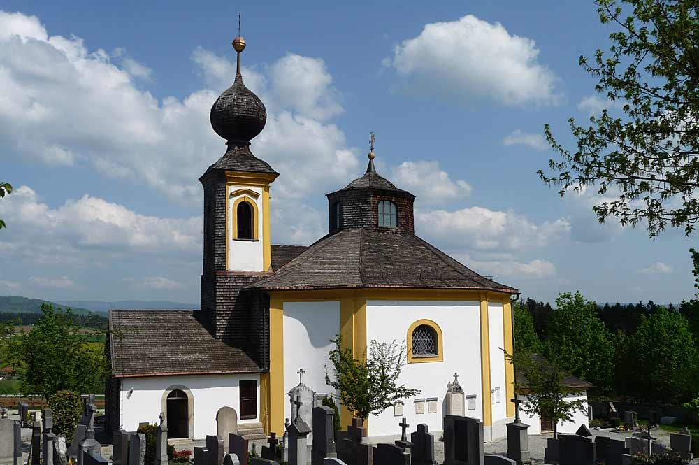 Friedhofskirche St. Anna in Wegscheid