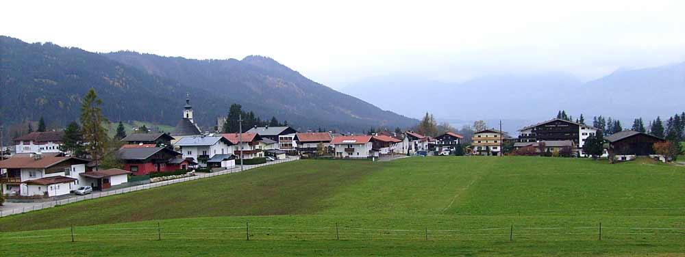 Blick auf Itter in Tirol