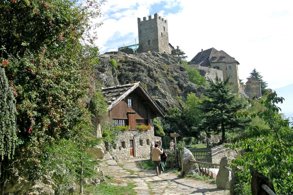 Schloss Juval mit dem Messner Mountain Museum