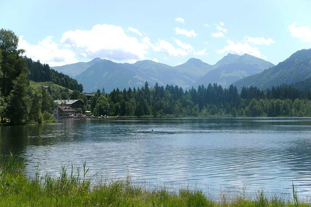 Der Schwarzsee bei Kitzbühel