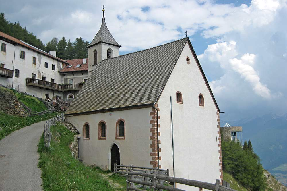 Kirche St. Martin im Kofel bei Latsch
