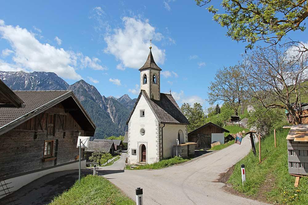 Kapelle zum Hl. Johannes in Schrottendorf bei Assling