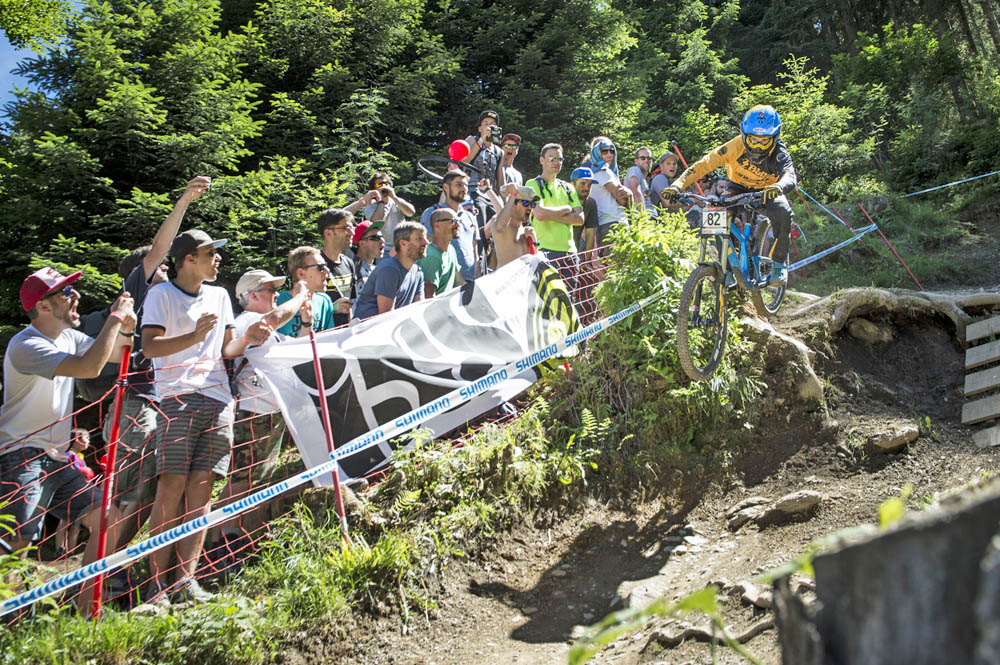 Mountainbiker beim Out of Bounds Festival in Leogang