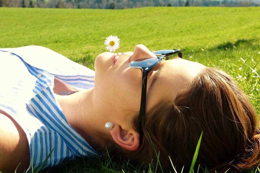 Entspannungsübung - Kleine Auszeit zwischendurch
