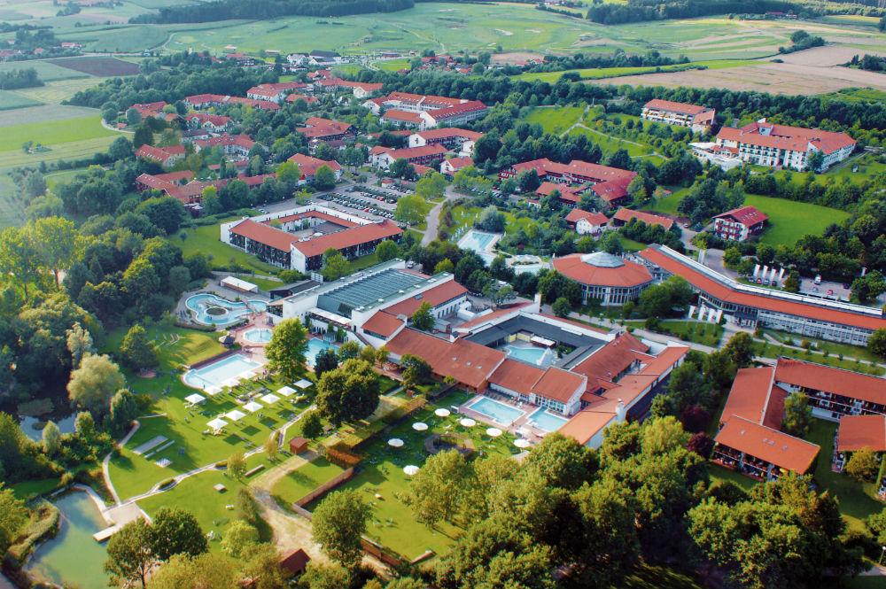 Luftbild der Rottal Terme in Bad Birnbach