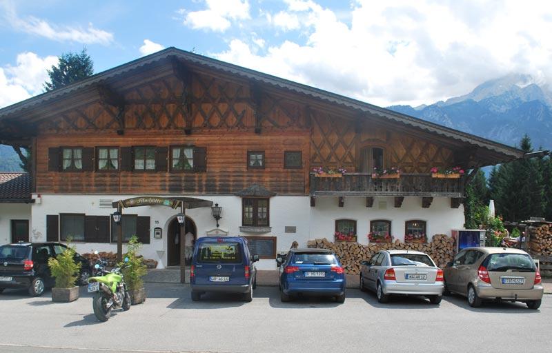 Berggasthof Almhütte Garmisch-Partenkirchen