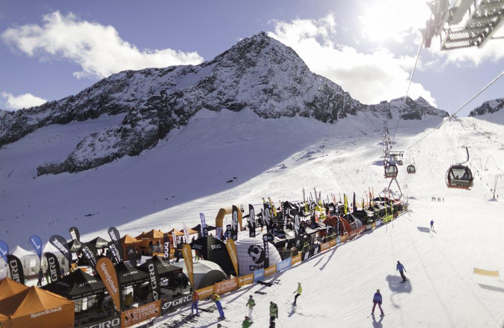 SportScheck GletscherTestival am Stubaier Gletscher