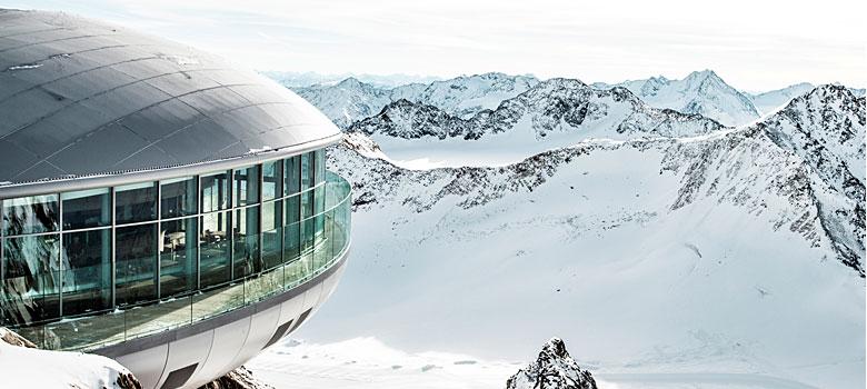 Café 3.440 am Pitztaler Gletscher
