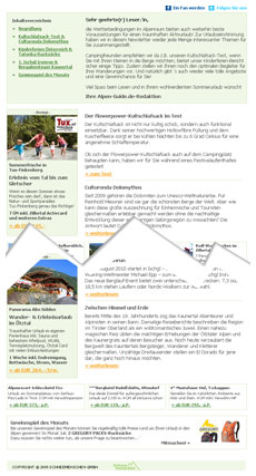 Alpen-Guide.de Newsletter