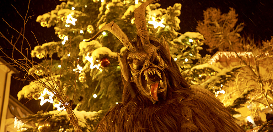 Krampus in Zell