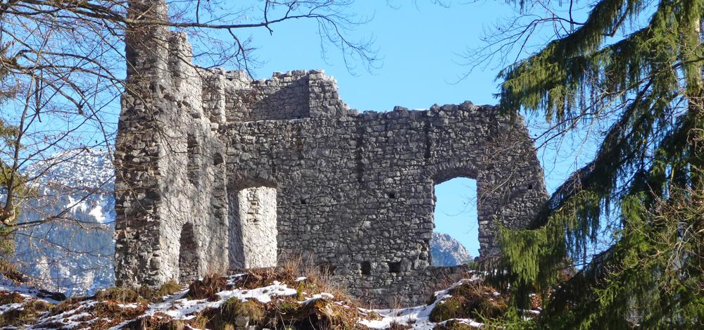 Burg Werdenfels bei Garmisch-Partenkirchen