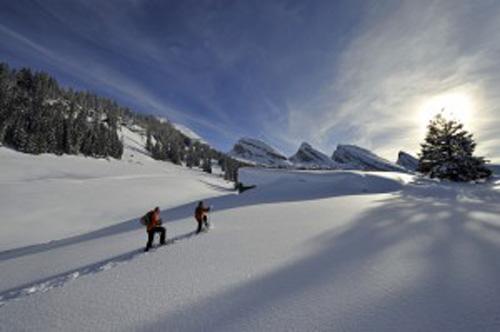 Neue Schneeschuhtouren und Winter-Erlebniswege