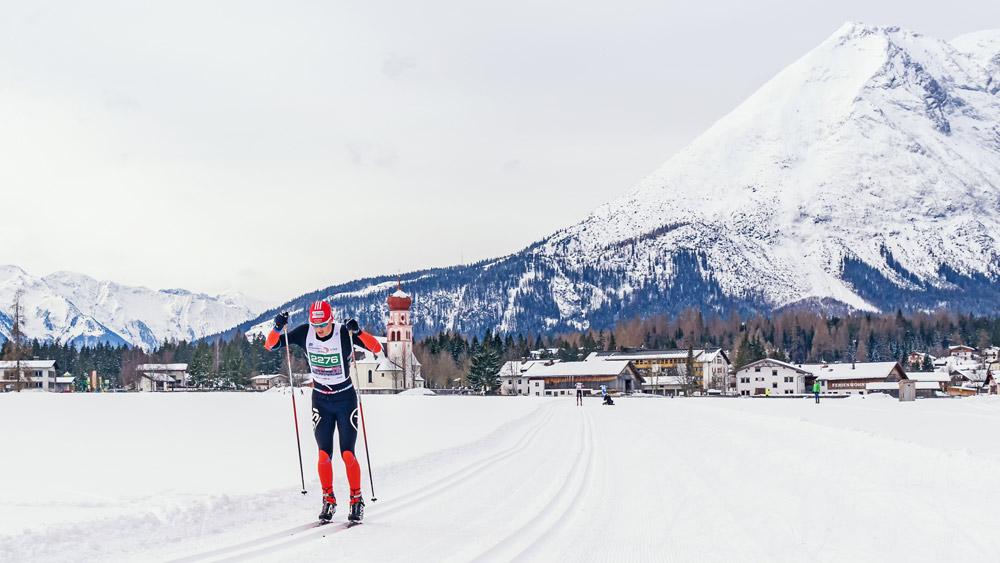 Läufer beim Ganghoferlauf in Leutasch