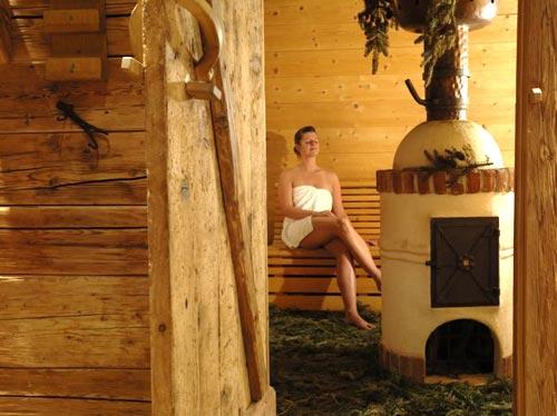 Saunieren und weitere Wellnessangebote findet man in der Region