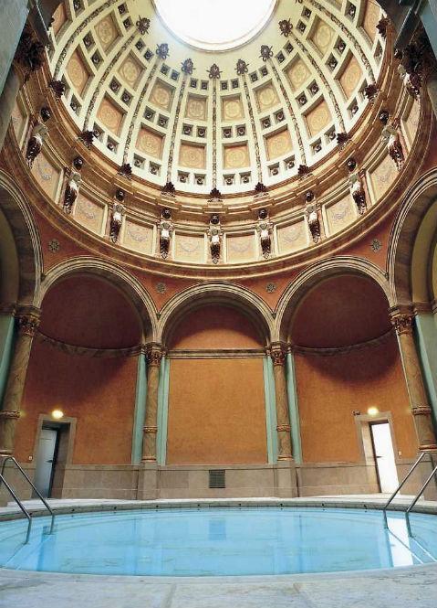 Das Kuppelbad im Friedrichsbad in Baden-Baden
