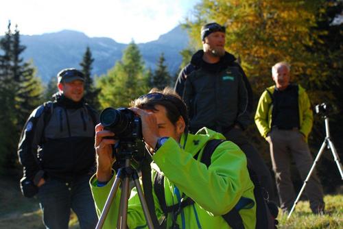 Naturfotografie in den Naturparken