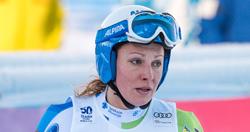 Skirennfahrerin Ilka Stuhec