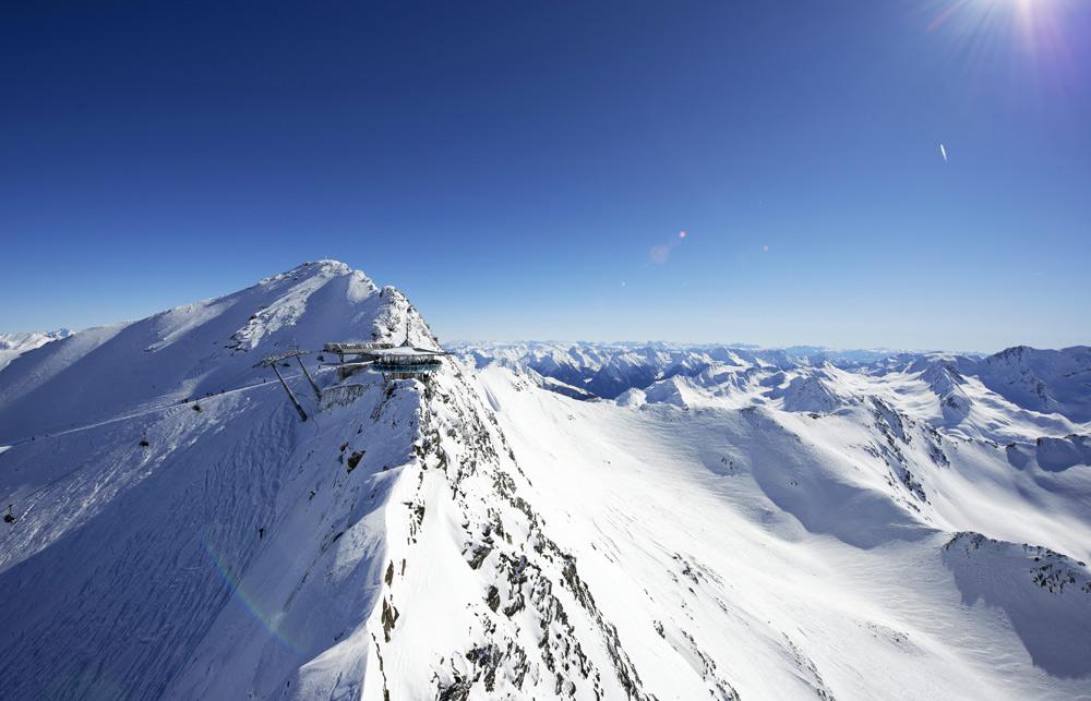 Top Mountain Star im Skigebiet Obergurgl-Hochgurgl