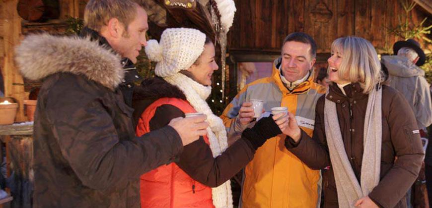 Gemeinsames Feiern des Advent gehört zur Tradition des Pitztaler Bergadvents.